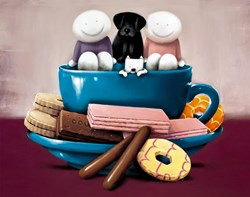 A Cup of Love by Doug Hyde - Limited Edition on Paper sized 19x15 inches. Available from Whitewall Galleries